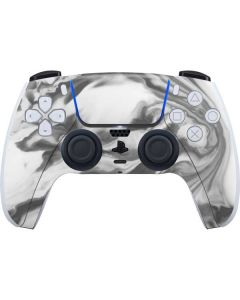 Grey Marble Ink PS5 Controller Skin