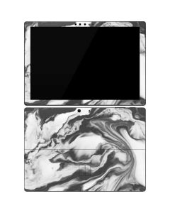 Grey Marble Ink Surface Pro 7 Skin