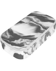 Grey Marble Ink UV Phone Sanitizer and Wireless Charger Skin