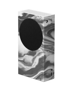 Grey Marble Ink Xbox Series S Console Skin