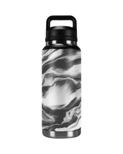 Grey Marble Ink YETI Rambler 36oz Bottle Skin