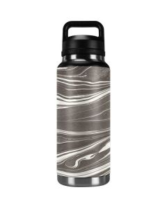 Grey Marble YETI Rambler 36oz Bottle Skin