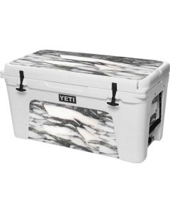 Grey Marbling YETI Tundra 75 Hard Cooler Skin