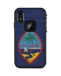 Guam Flag Dark Wood LifeProof Fre iPhone Skin