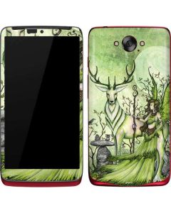 Guardian Fairy and Stag Motorola Droid Skin