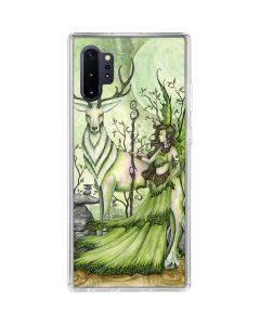 Guardian Fairy and Stag Galaxy Note 10 Plus Clear Case