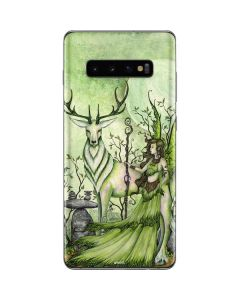 Guardian Fairy and Stag Galaxy S10 Plus Skin
