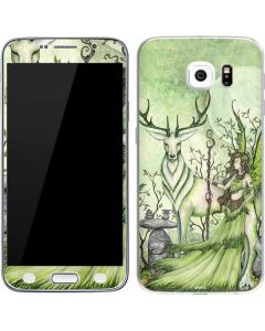 Guardian Fairy and Stag Galaxy S6 Skin