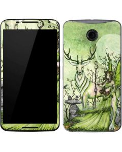 Guardian Fairy and Stag Google Nexus 6 Skin