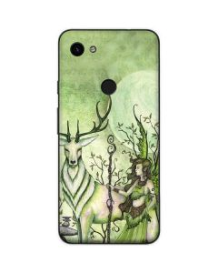 Guardian Fairy and Stag Google Pixel 3a Skin