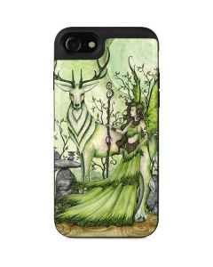 Guardian Fairy and Stag iPhone SE Wallet Case