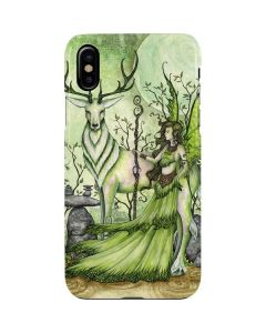 Guardian Fairy and Stag iPhone XS Max Lite Case