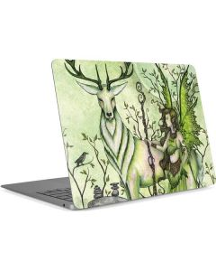 Guardian Fairy and Stag Apple MacBook Air Skin