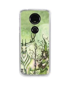 Guardian Fairy and Stag Moto E5 Plus Clear Case