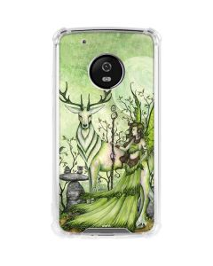 Guardian Fairy and Stag Moto G5 Plus Clear Case
