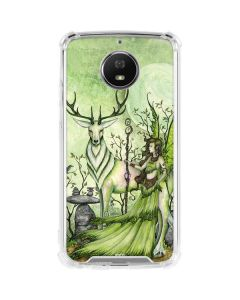 Guardian Fairy and Stag Moto G5S Plus Clear Case