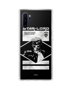 Guardians of the Galaxy Star-Lord Galaxy Note 10 Plus Clear Case