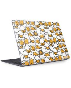 Gudetama Blast Pattern Surface Laptop 3 13.5in Skin