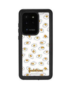 Gudetama Egg Pattern Galaxy S20 Ultra 5G Waterproof Case