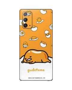 Gudetama Egg Shell Galaxy Note20 5G Skin