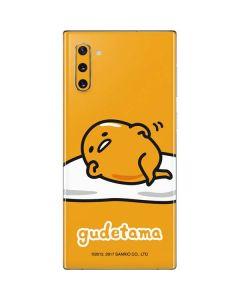 Gudetama Galaxy Note 10 Skin