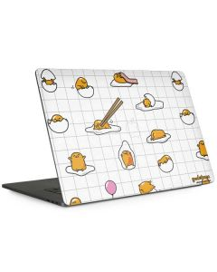 Gudetama Grid Pattern Apple MacBook Pro 15-inch Skin