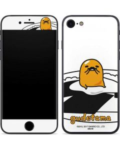 Gudetama Mustache iPhone SE Skin