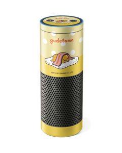 Gudetama Polka Dots Amazon Echo Skin