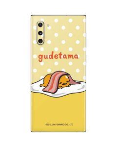 Gudetama Polka Dots Galaxy Note 10 Skin
