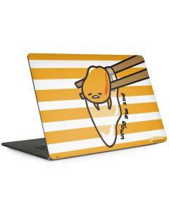 Gudetama Put Me Down Apple MacBook Pro 15-inch Skin