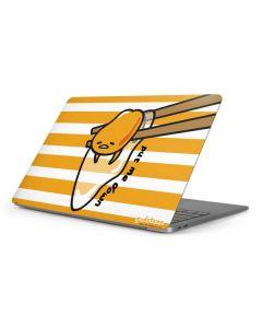Gudetama Put Me Down Apple MacBook Pro 16-inch Skin