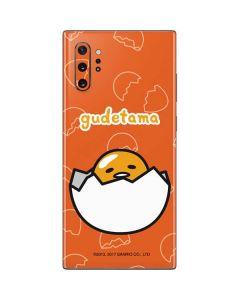 Gudetama Shell Pattern Galaxy Note 10 Plus Skin