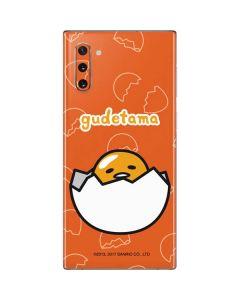 Gudetama Shell Pattern Galaxy Note 10 Skin