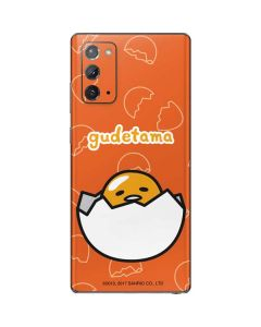 Gudetama Shell Pattern Galaxy Note20 5G Skin