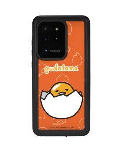 Gudetama Shell Pattern Galaxy S20 Ultra 5G Waterproof Case