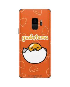 Gudetama Shell Pattern Galaxy S9 Skin
