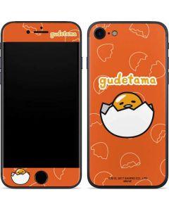 Gudetama Shell Pattern iPhone SE Skin