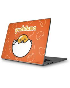 Gudetama Shell Pattern Apple MacBook Pro 17-inch Skin