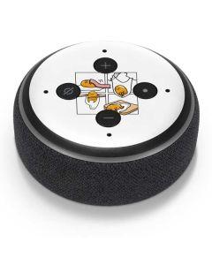 Gudetama Square Grid Amazon Echo Dot Skin