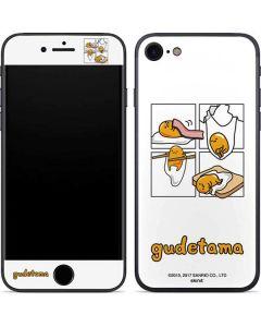 Gudetama Square Grid iPhone SE Skin
