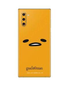 Gudetama Up Close Galaxy Note 10 Skin