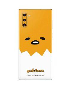 Gudetama Up Close Shell Galaxy Note 10 Skin
