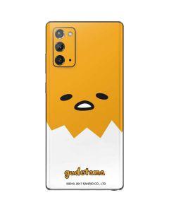 Gudetama Up Close Shell Galaxy Note20 5G Skin