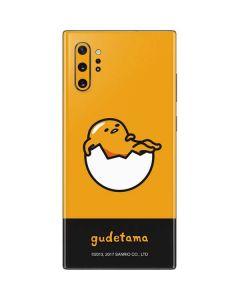 Gudetama Yellow Split Galaxy Note 10 Plus Skin