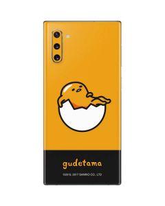 Gudetama Yellow Split Galaxy Note 10 Skin