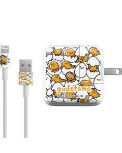 Gudetama Blast Pattern iPad Charger (10W USB) Skin
