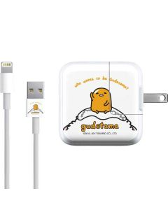 Who Wants To Be Gudetama iPad Charger (10W USB) Skin