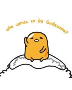 Who Wants To Be Gudetama Samsung Galaxy Tab Skin
