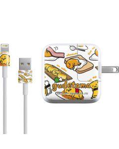 Gudetama 5 More Minutes iPad Charger (10W USB) Skin