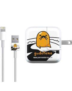 Gudetama Mustache iPad Charger (10W USB) Skin